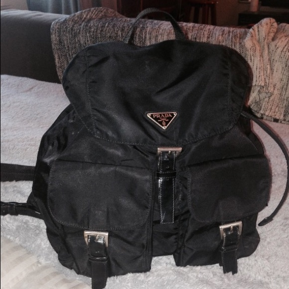 bf873d4c837383 Prada Bags | Authentic Vintage Vela Backpack Serial 59 | Poshmark